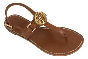 Tory Burch Miller Thong Miller Tory Royal Tan Sandals