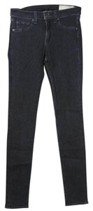 Rag & Bone Jeggings Jean Leggings Skinny Jeans-Dark Rinse