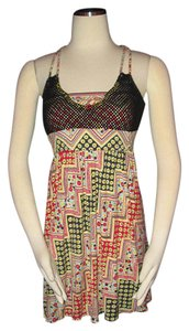 Free People Cami Size M Colorful Tunic