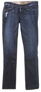 Rich & Skinny & & Wash Blue Straight Leg Jeans