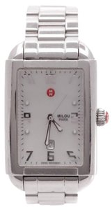 Michele Michele stainless steel milou park watch