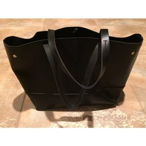 J.Crew Leather Tote in Black