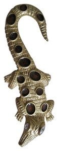 Kenneth Jay Lane Kenneth Jay Lane Alligator Brooch