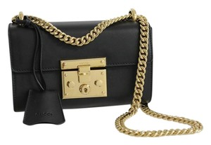 Gucci Leather Padlock Shoulder Bag
