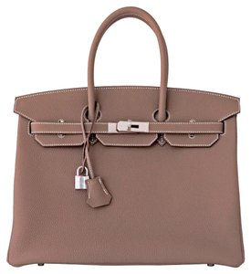 Hermès Birkin Birkin Birkin Birkin 35 Birkin 35 Tote in Etoupe