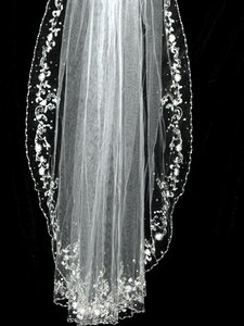 Bella Tiara Royal Collection Spectacular Crystal Edge Veil