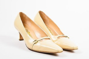 Salvatore Ferragamo Tan Pumps