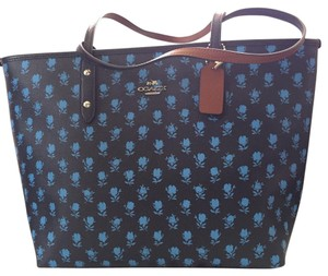 Coach Chanel Kors Monogram Tote in Blue