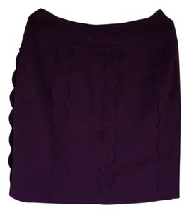 Anthropologie Skirt burgundy