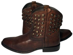 Frye 76684 Wayatt Disc Women 7.5 Women Size 7.5 Brown Boots