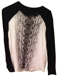 Karen Kane Top Black And White