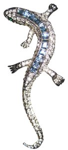 Kenneth Jay Lane Kenneth Jay Lane Lizard Brooch