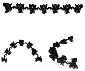 Other Black Attached Clips For Hair