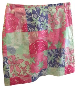 Lilly Pulitzer Skirt Pink, Purple, Green
