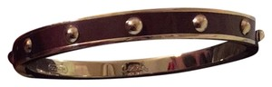 Coach Coach Bangle Brown & silver