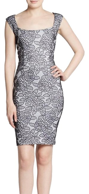 Preload https://item2.tradesy.com/images/marc-bouwer-white-black-gray-knee-length-cocktail-dress-size-6-s-16442986-0-1.jpg?width=400&height=650