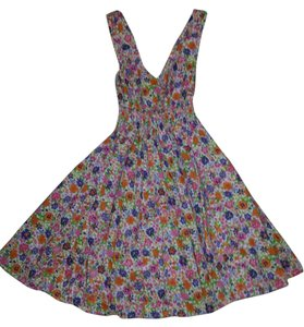 Divided by H&M short dress Floral Print Flowy Cotton Summer Spring Comfortable Sleeveless Classic Boho on Tradesy