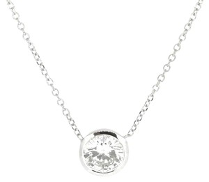 Other 14K White Gold 0.62Ct Diamond Pendant Necklace 1.4 Grams 16