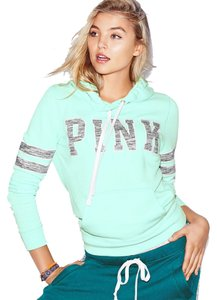 PINK Victorias Secret Pullover Blue Sweatshirt