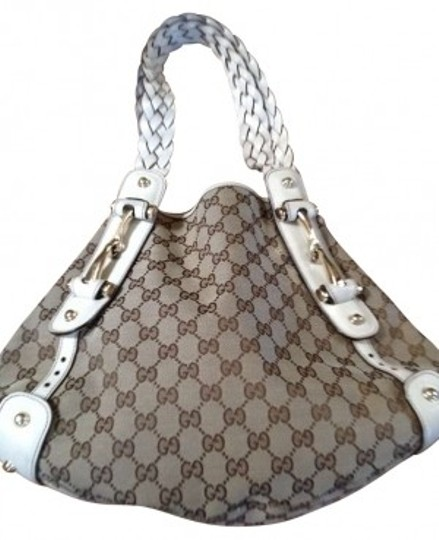 Preload https://img-static.tradesy.com/item/164436/gucci-medium-with-signature-gg-and-braided-straps-beige-leatherfabric-shoulder-bag-0-0-540-540.jpg