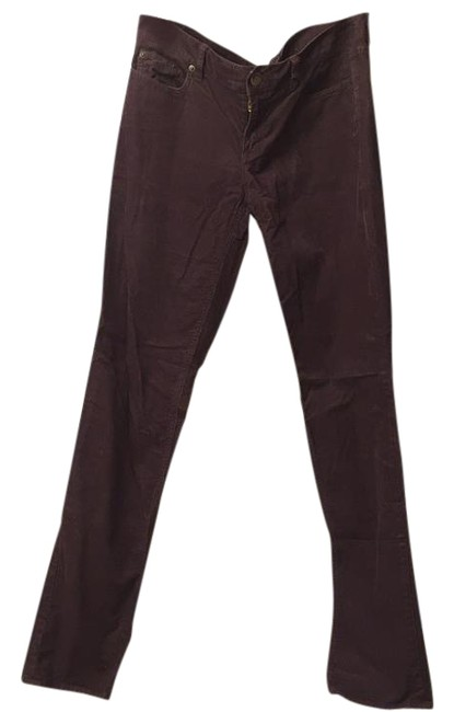 J.Crew Boot Cut Pants Plum Image 2
