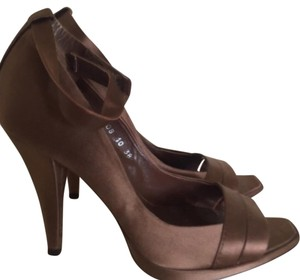 Pedro Garcia Bronze Pumps