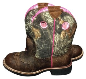 Ariat Fatbaby Cowgirl Cowgirl Size 10 Camouflage Boots