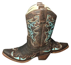 Corral Boots Corral Corral Cowgirl Corral Western Size 8 Brown Boots