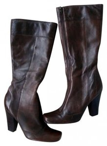 Gianni Bini Brown/Dark Brown Boots