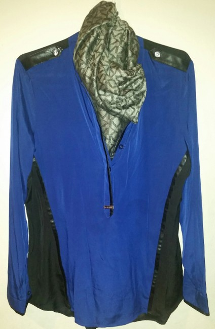 Michael Kors Top Blue and Black