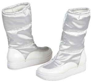 Cole Haan White Boots
