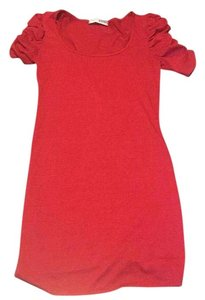 Necessary Objects short dress Red on Tradesy