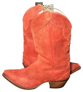 Justin Boots Justin Cowgirl Justin Justin Western Size 8.5 Red Boots