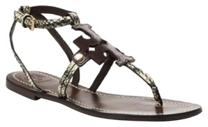 Tory Burch Snake embossed Sandals