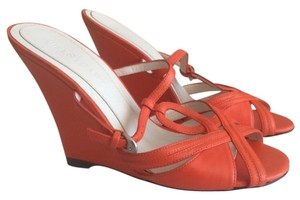 Jill Stuart Orange Wedges