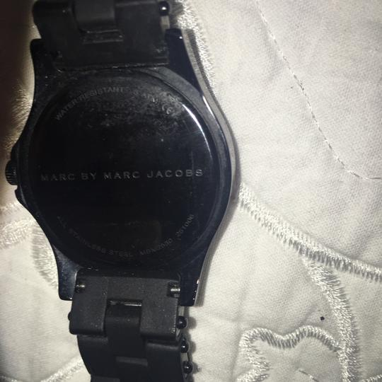 Marc Jacobs Marc Jacobs Pelly Silicon Black Watch