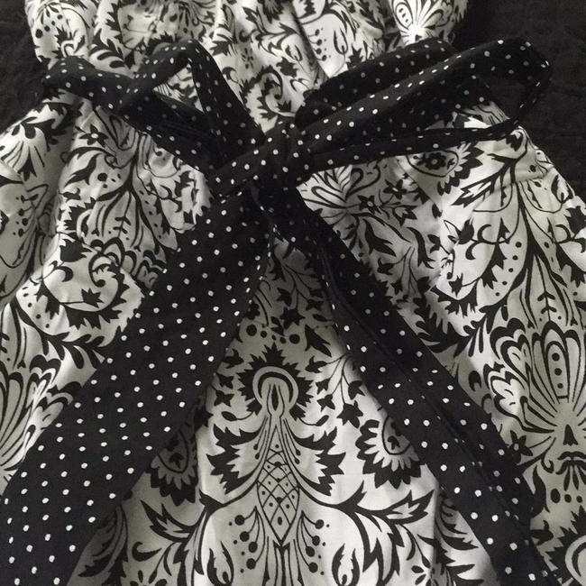 Ruby Rox short dress Black and White Tulle Crinoline Printed Summer Party on Tradesy
