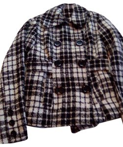 Charlotte Russe Black and white checkd Jacket