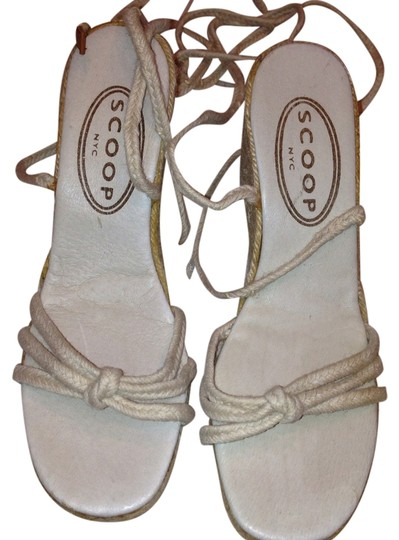 Scoop NYC Beige Wedges