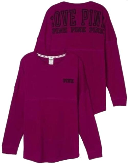 Item - Burgundy Pink Limited Edition Crew Oversized Large Tunic Size 14 (L)