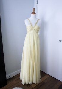 BCBGMAXAZRIA Yellow Bcbg Max Azria Dress Size 2 Dress