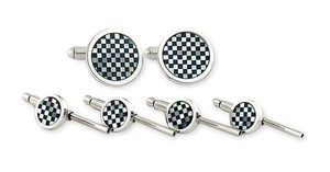 David Donahue Men's David Donahue Cuff Links & Studs Set