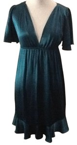 Amanda Uprichard Chic Petroleum Blue Tunic