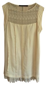 Development short dress cream on Tradesy