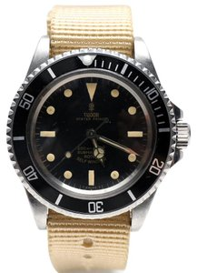 Tudor 1970's Tudor Submariner Canvas Band