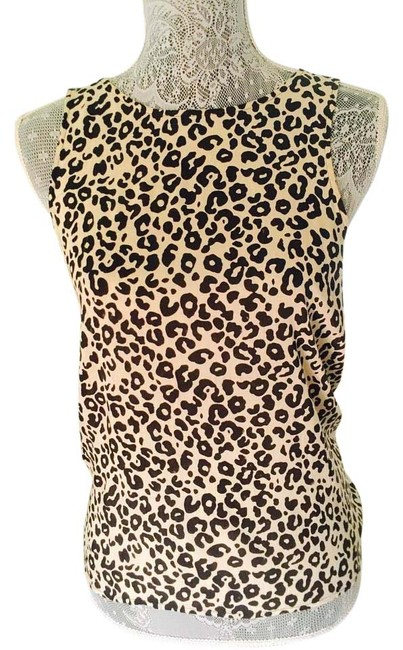 Preload https://img-static.tradesy.com/item/16447180/fun-2-fun-animal-print-blouse-size-8-m-0-1-650-650.jpg