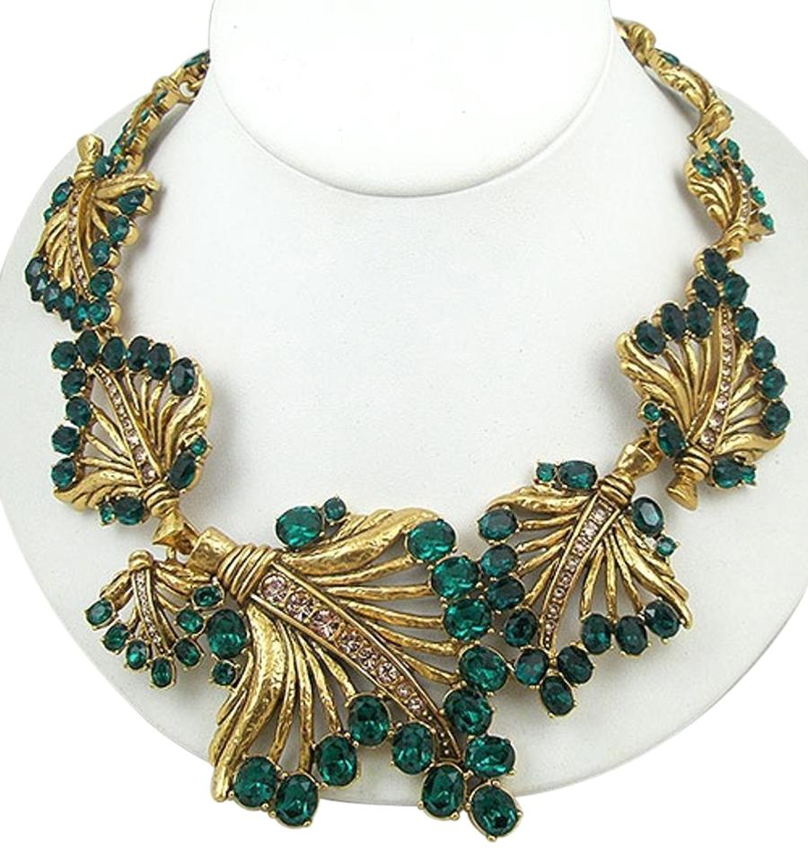 rose plated leaves gold shaffer roseandleavesnecklace mercedes gp and products necklace
