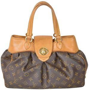 Louis Vuitton Monogram Boetie Satchel in Brown