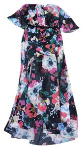 Multi Maxi Dress by French Connection Floral Reef Chiffon
