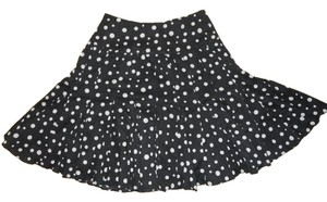 INC International Concepts Skirt black & white